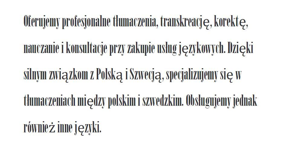 polska-typsnitt