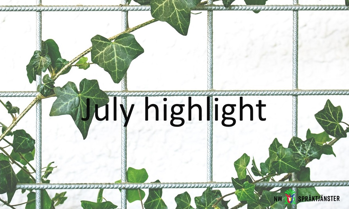 July highlight