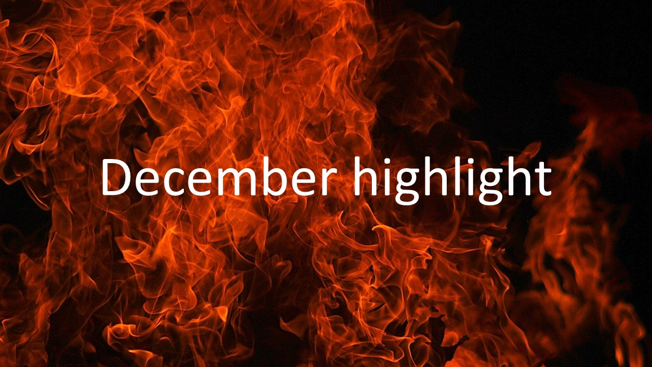 December highlight