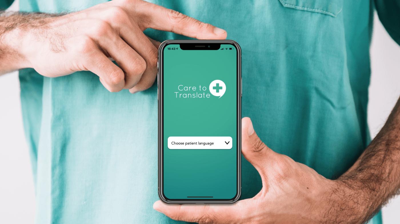 En strålande app för vården