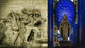 polen-kyrka-soldater