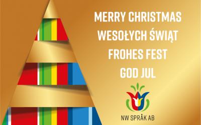God jul! Wesołych Świąt!