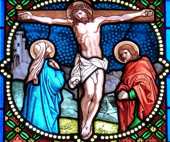 korsfästelse