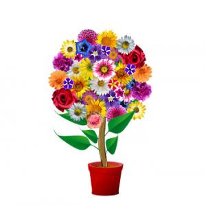 blommor mors dag